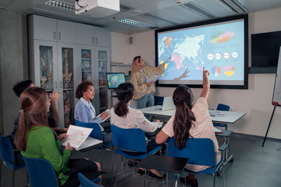 av systems for education