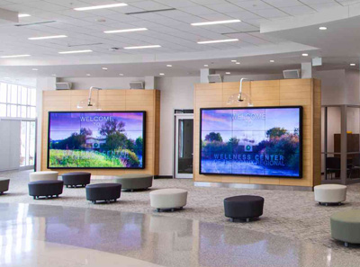 corporate digital signage